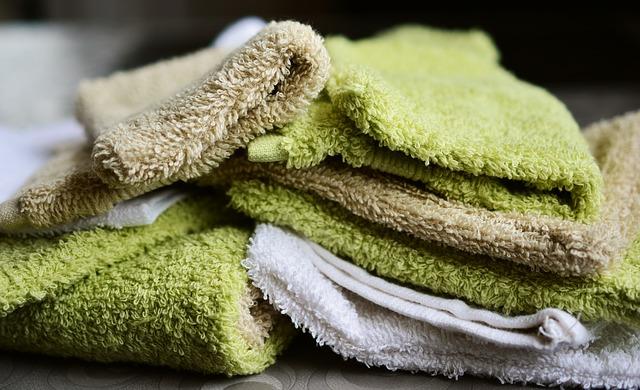 mycí rukavice