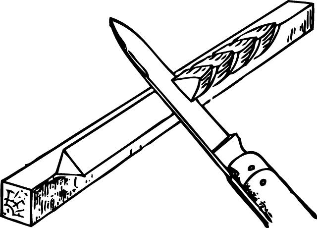 nůž na dřevo