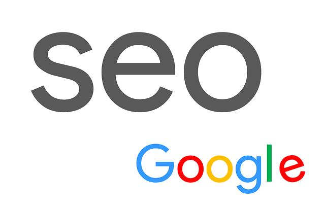 nápis seo a google