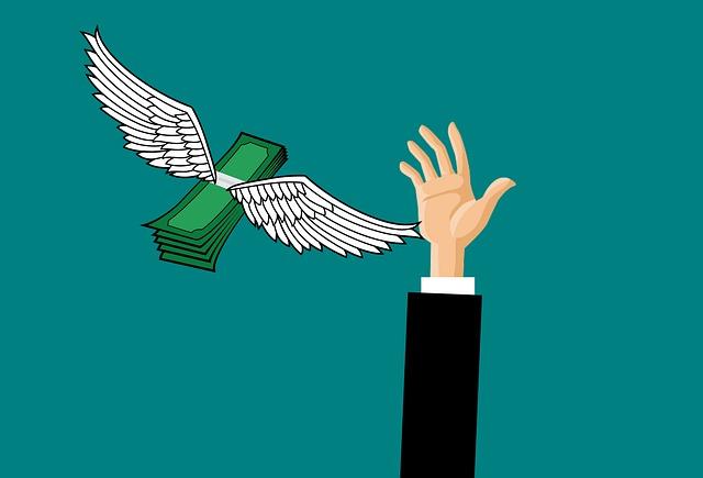 peníze dávají křídla