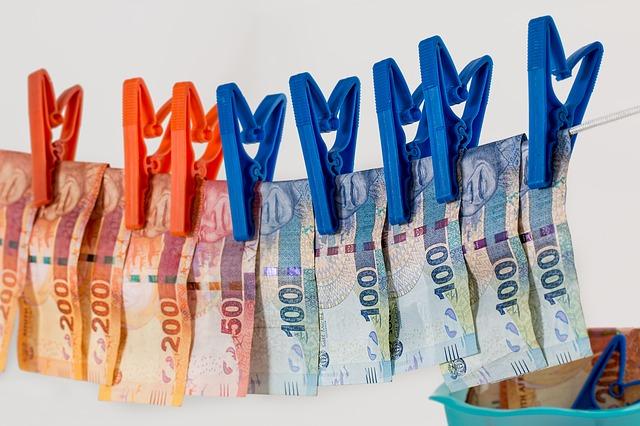 sušení peněz