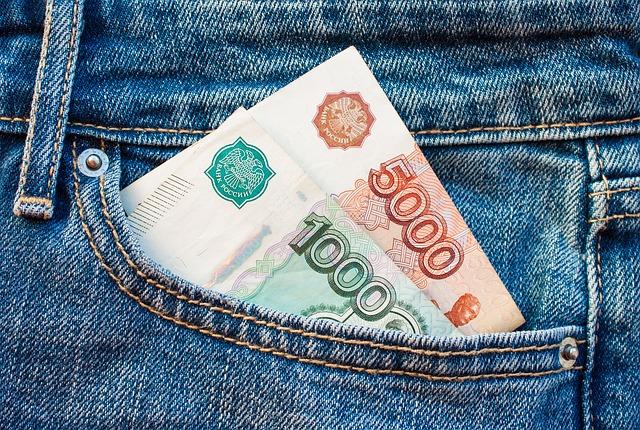 peníze v kapse
